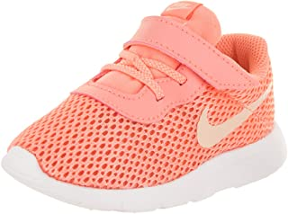 9d4f9c95a248 NIKE Toddlers Tanjun (TDV) Lt Atomic Pink Crimson Tint Running Shoe 9  Infants US