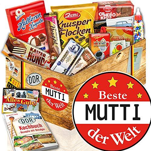 BESTE MUTTER Süssigkeiten Box mit DDR Produkten + Ostpakete DDR Waren