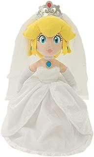 Little Buddy 1692 Super Mario Odyssey: Peach Bride (Wedding Style) Plush, 13.5