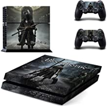 PS4 Console and 2 Controller Vinyl Skin Cover - Bloodborne HD Printing by Mr Wonderful Skin