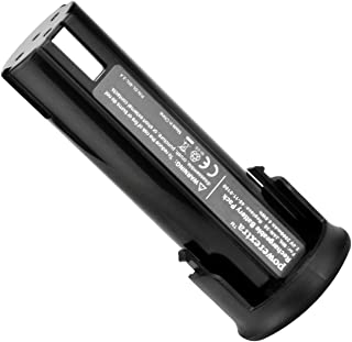 Powerextra 2.4V 2000mAh Ni-CD Replacement for Milwaukee Power Tool Battery