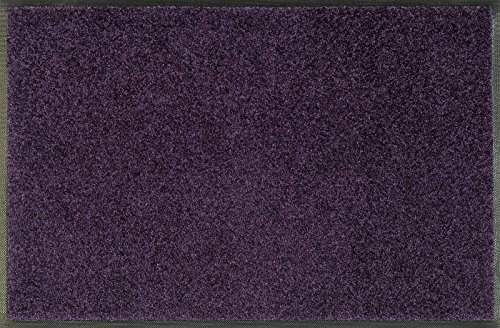 Wash+Dry Trend de Colour Velvet Purple Paillasson Lavable Violet Beere, 50 x 75 m