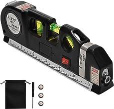 Laser Tape Rulers, CarBoss Multipurpose Laser Level laser, measure Line 8 FT/2.5M Measure..