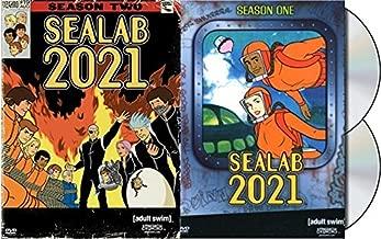 2021 Cartoon Network Adult Swim Sealab Season1 & 2 Sea Lab 2 Pack Bundle