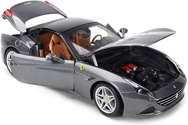 precios razonables YaPin Model Coche Coche Coche 1 18 Ferrari California Alloy Simulation Modelo de Coche de Juguete de los Niños Serie de Automóviles Deportivos Joyería 26x11.3x6.2 CM Modelo de Coche  opciones a bajo precio