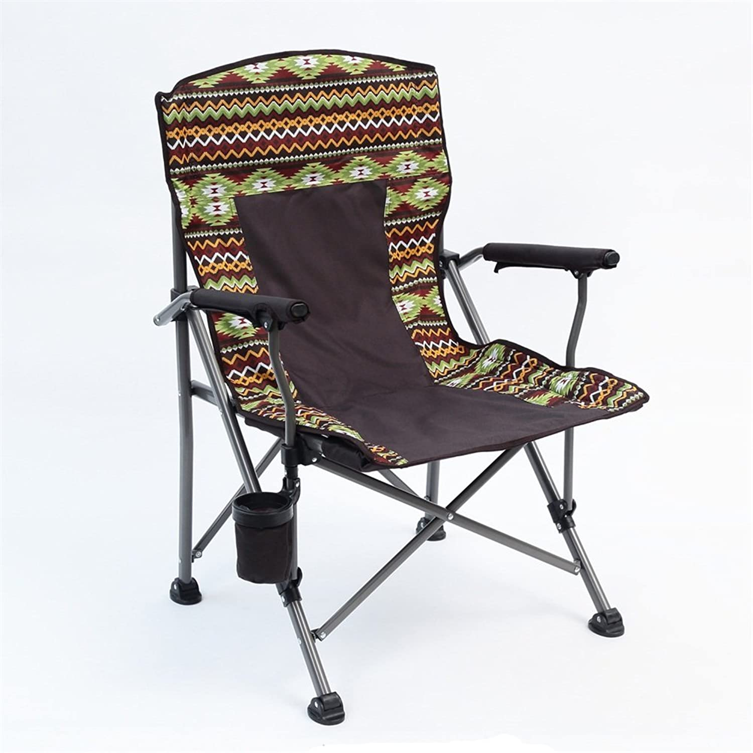 Collapsible Stools with Backrest Folding Seat with Armrest Beach Chair with Armrest Ergonomic Fishing Chair Portable Solid Practical Leisure Creative