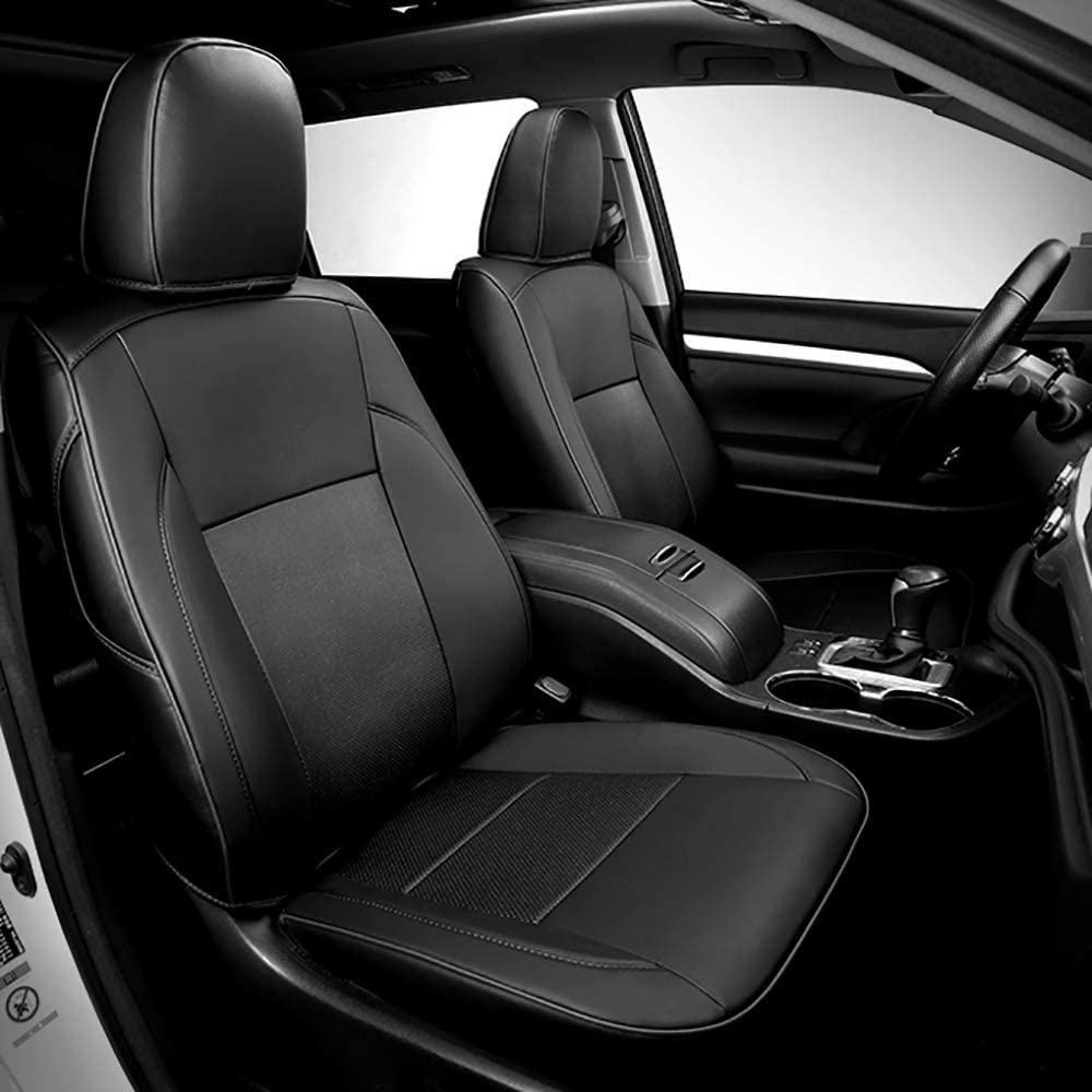 BEHAVE Black store Car seat Covers Custom Toyo for Fit Import Seat