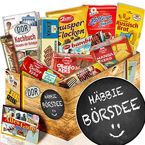Keks Geschenke / DDR Set / Häbbie Börsdee / Geschenke Geburtstag
