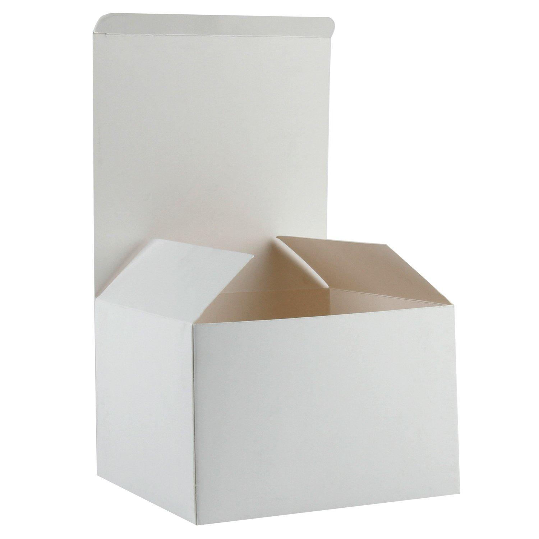RUSPEPA Cajas De Regalo De Cartón Reciclado - Cajas De Regalo para ...
