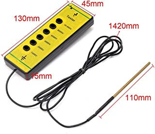 Voltage Tester Detector Electric Farm Rails Poly Wire Ribbon Rope Tool for Daily Fence Maintenance