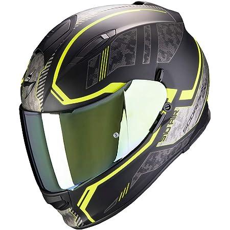Scorpion Motorradhelm Exo 510 Air Occulta Matt Black Neon Yellow Schwarz Gelb L Auto