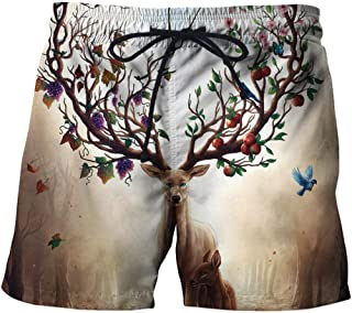 Men'S Hiking Shorts Printed Men'S Shorts