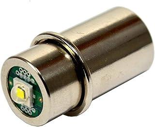 HQRP ハイパワー3w LED バルブ、 Mag-Lite 3-4-5-6 D/C 懐中電灯に通用、コンバージョン?バルブ?アップグレード+ HQRP コースター