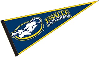 College Flags and Banners Co. La Salle Explorers Pennant Full Size Felt