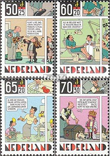Prophila Collection Niederlande 1259-1262 (kompl.Ausg.) 1984 Kind und Comic (Briefmarken für Sammler) Comics