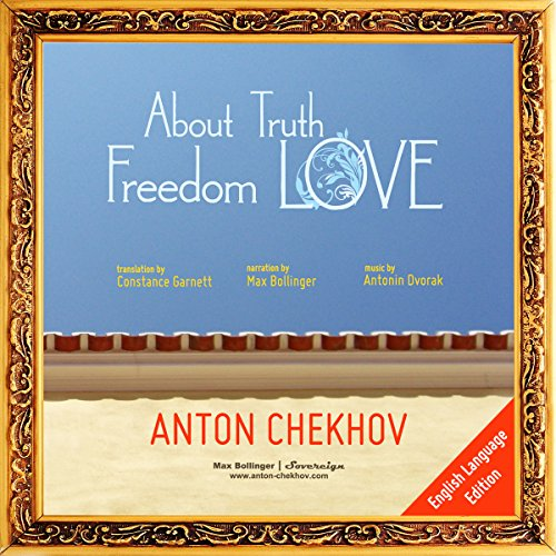 About Truth, Freedom and Love audiobook cover art