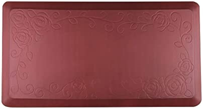 """Cook N Home Anti-Fatigue Comfort Mat, 39 x 20, Red, 3/4"""" Thickness"""