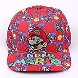 XINKANG Gorra Super Mario Bros 2017 Fashion Baseball Cap Mario...