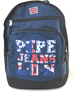 Doble mochila 'Pepe Jeans'marina - union jack (44x32x23 cm).