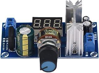 Regulador de potencia LM317-Regulador 317 Regulador de voltaje ajustable Placa de fuente de alimentación Pantalla de volta...
