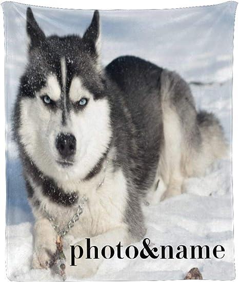 Siberian Husky Collection Fleece Blanket Freeshipping