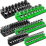 Olsa Tools Magnetic Socket Organizer | 6 Piece Socket...