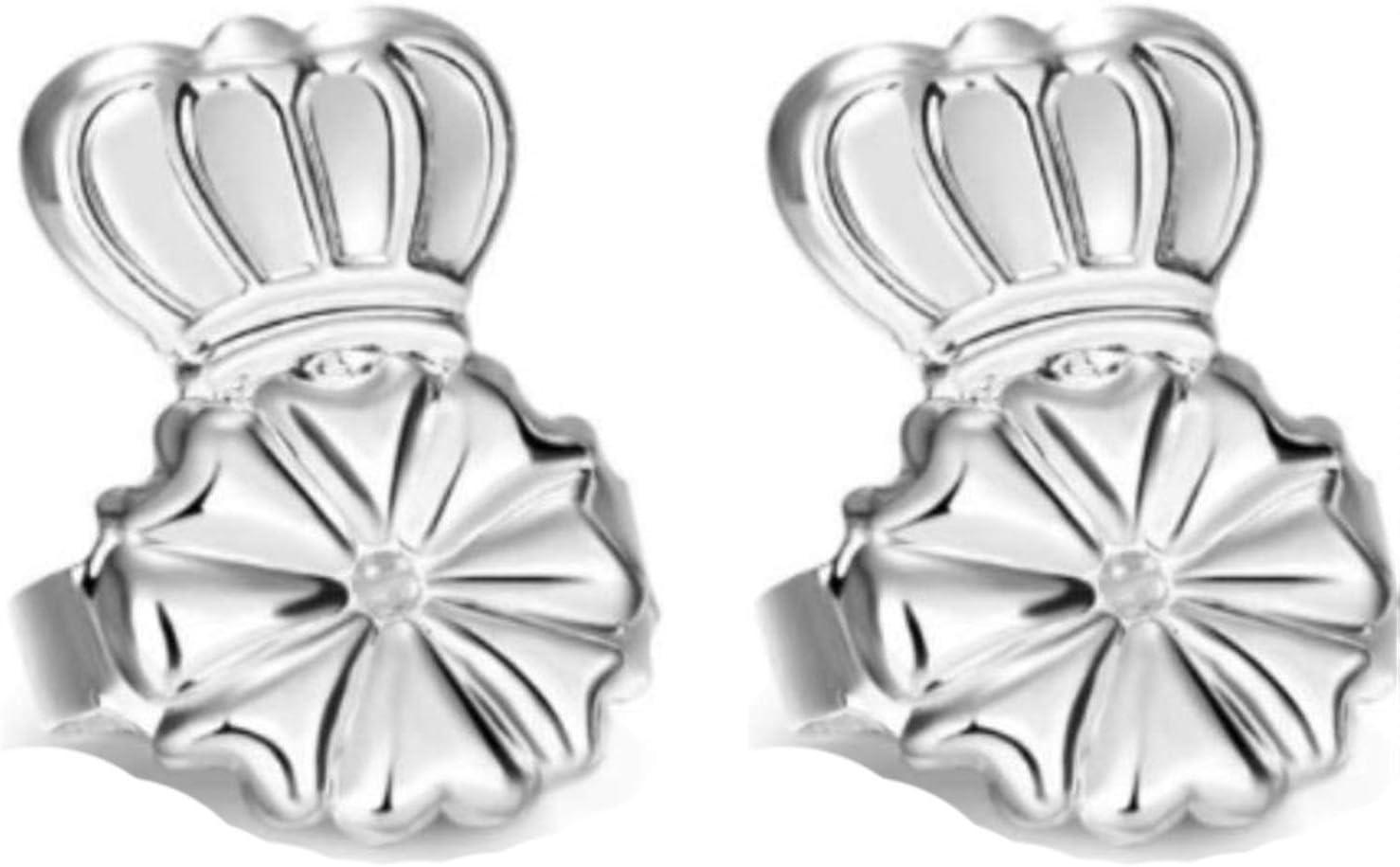 SVBBZC Studs Clip On Earrings Stud Buckle Lifter Jewelry .# (Metal Color : J)