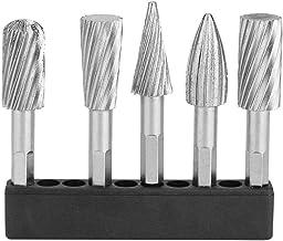 Ruko 116011TC Fresas metal duro TiCN forma A 8 mm ZYA cil/índrica sin dentado frontal 8 x 60 mm