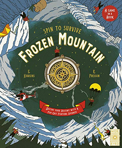 Frozen Mountain: Decide Your Destiny with a Pop-Out Fortune Spinner