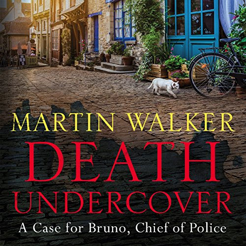 Death Undercover audiobook cover art