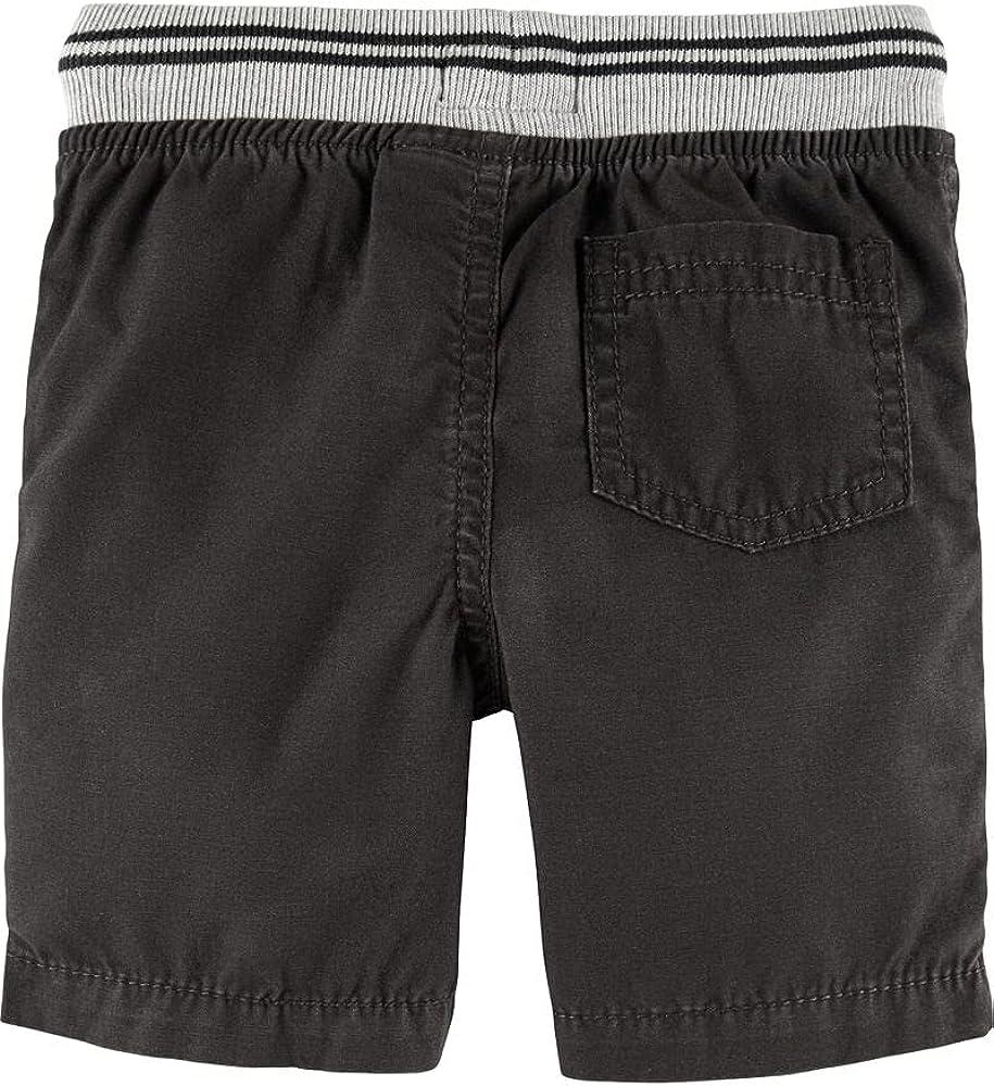 Baby Boys OshKosh Pull On Canvas High material Months 12 Size Black Shorts Popular standard