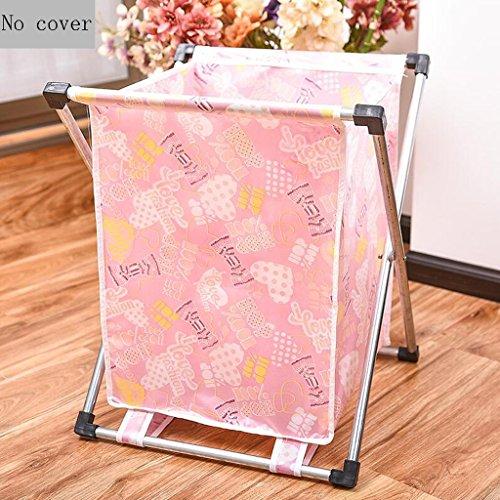 Xuan - Worth Another Modèle de Bonbons Roses Panier de vêtements Sale Panier Pliant Panier de Rangement Panier à Linge (Taille : No Cover)
