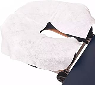 Lifesoft Disposable Headrest Covers - Silky Soft Face Cradle Covers 100 Pack
