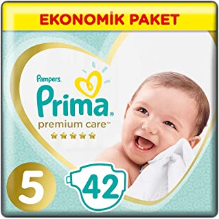 Prima Bebek Bezi Premium Care, 5 Beden, 42 Adet, Junior Jumbo Paket