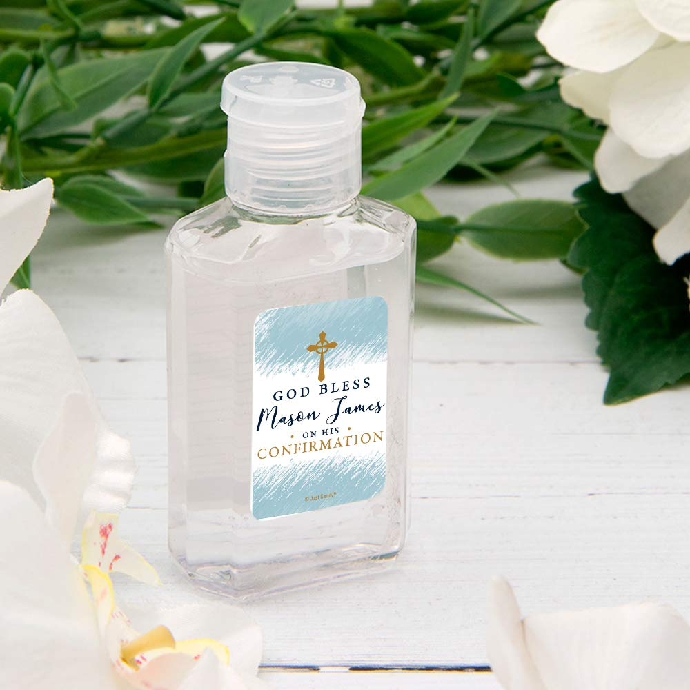 24ct Hand Sanitizer Inexpensive 100% quality warranty Confirmation Favors oz.Bo Personalized 2 fl.