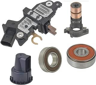 Alternator Rebuild Kit 2006 Mercedes E350 R350 ML350 Bosch Regulator with Brushes, Bearings, Slip Ring - 11217RK