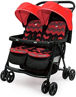 YINGYETC Pushchair Light Folding Shock Absorbers Can Sit and Lie Dragon and Twin Baby Strollers with One Hand