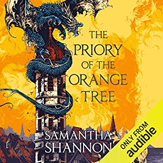 The Priory of the Orange Tree                   By:                                                                                                                                 Samantha Shannon                               Narrated by:                                                                                                                                 Liyah Summers                      Length: 25 hrs and 52 mins     18 ratings     Overall 4.6