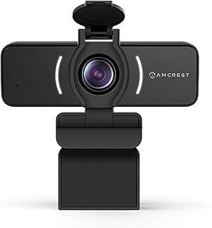 Amcrest 1080P Webcam with Microphone & Privacy Cover, Web Cam USB Camera, Computer HD Streaming Webcam for PC Desktop & La...