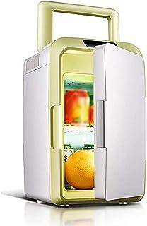 CJDM Petit réfrigérateur, réfrigérateur de Voiture 12L Voiture Maison Double Usage Mini incubateur Froid et Chaud réfrigér...