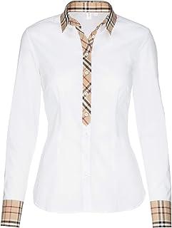 seidensticker CITY-BLUSE 1/1-LANG dames bloes