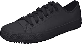 for Work Women's Gibson-Hardwood Slip Resistant Sneaker