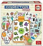 Educa - Conector Junior Primeros Aprendizajes: Aprende sobre Formas, Colores, números, lógica y asociaciones Juego Educativo para niños, a Partir de 3 años (17580)