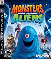 Monsters vs. Aliens (PS3 輸入版 北米)日本版PS3動作可