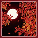 Yu-soku Furoshiki Wrapping Cloth Japanese Fall Maple Leaves