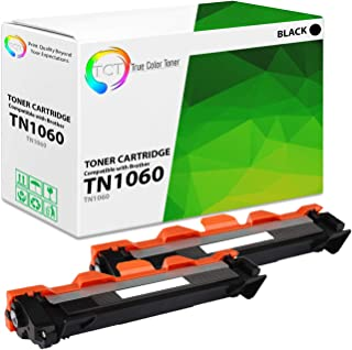 TCT Premium Compatible Toner Cartridge Replacement for Brother TN1060 TN-1060 Black Works with Brother HL-1110 1112 1212W, MFC-1810 1910W, DCP-1510 1510R 1610W 1612W Printers (1,000 Pages) - 2 Pack