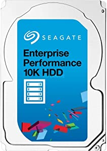 (New) Seagate 900GB 10K ST900MM0006 SAS 6GB/s 2.5 Savvio 10K.6 Exos Server Hard Drive HDD Compatible with DELL HP (Renewed)