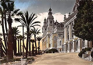Monte Carlo, Le Casino et les Terrasses La Cote d'Azur France Postcard