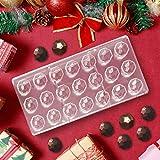 Jeteven Molde de Chocolate Molde de Caramelos para DIY Jalea Dulce Bandeja Herramienta Tridimensional (21pcs Diamente)