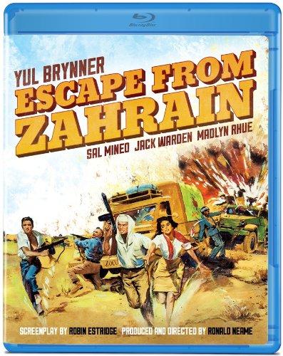 Escape From Zahrain [Blu-ray]